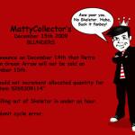 MattyCollector's December 15th Debacle