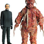 Doctor Who Delgado Master and Axon Figures Announced