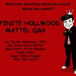 Mattel Q&A September 15, 2010