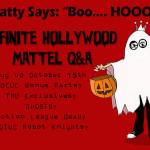 October 15th Mattel Q & A