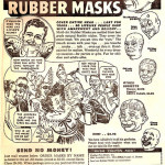 Classic Comic Ad: Monkey Shines Masks