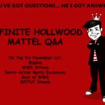 November 1st Mattel Q&A