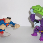 Figure Review: Action League Superman and Bizarro