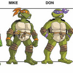A Look At The WB Ninja Turtles