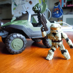 Figure Review: Art Asylum / DST Halo Minimates Warthog