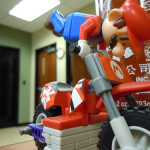 Desk (Un)Friendly: K'Nex Mario and Bike Set