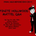 Mattel Q&A July 15th 2011