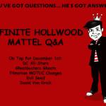 Mattel Q&A December 1st 2011