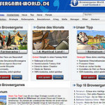 Sponsorship News: Browsergame-World.de