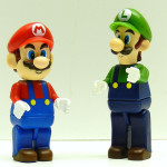 Mario & Luigi K'Nex Mini Figures Review