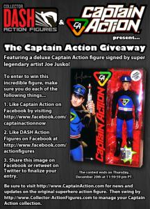 Captain Action Contest