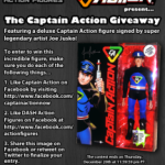 Captain Action Contest at DASH