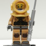Lego Minifigures Series 8 Diver Review
