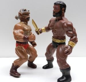 Hercules battles Mace Ape