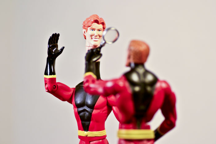 Dcie Elongated Man Figure Review Infinite Hollywood