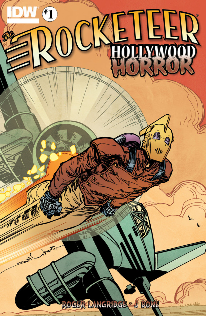 Rocketeer IDW #1 Review