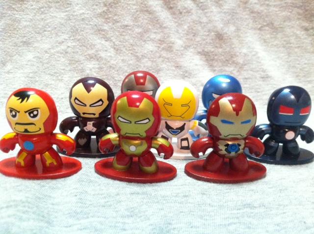 Iron Man Armor Micro Muggs