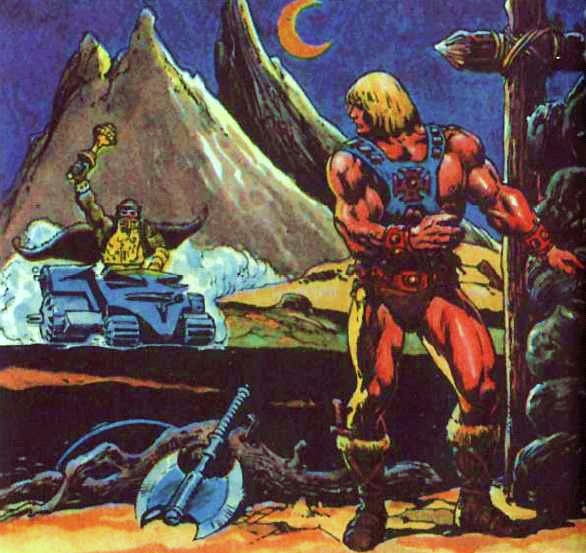 He-Man Mini Comic