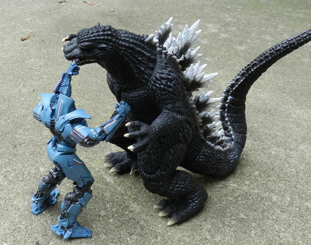 Gypsy Danger vs Godzilla