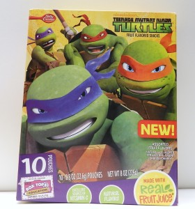 Ninja Turtles Fruit Snacks