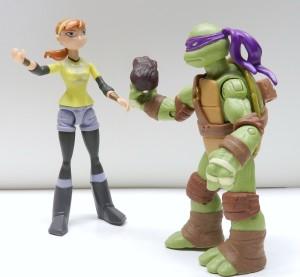 Donatello and April