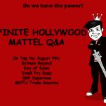 Mattel Q&A: August 9th, 2013