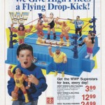 Classic Comic Ad: WWF Hasbro at Toys R Us