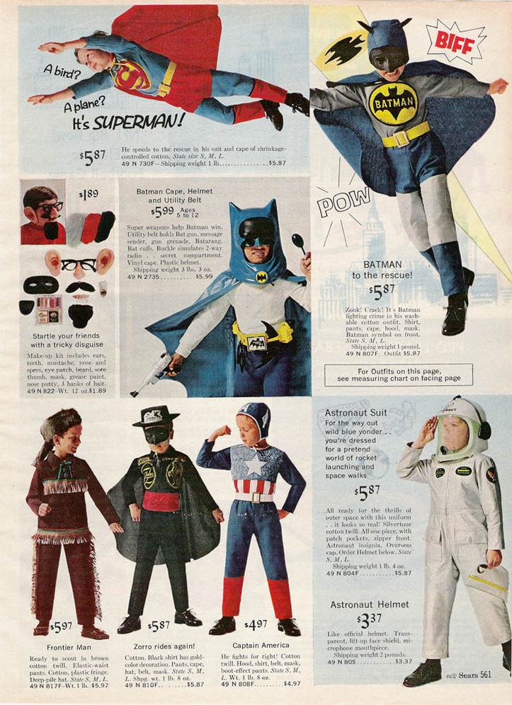 Old Batman Costume