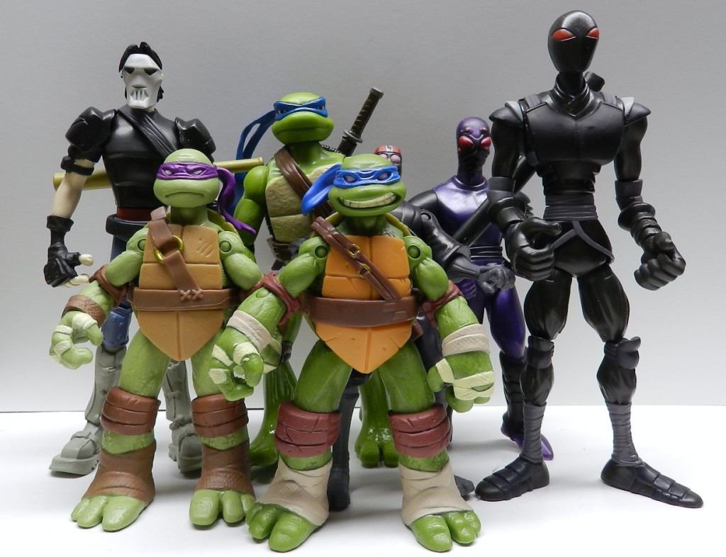 Ninja Turtles Comparison