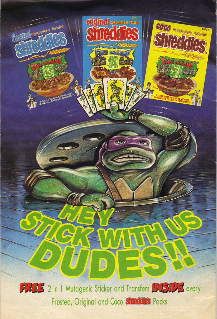 TMNT Shreddies