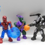 Marvel Mega Bloks Series 1: Spider-man, Green Goblin, War Machine Review