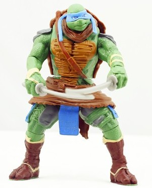 teenage mutant ninja turtles-movie figures 4