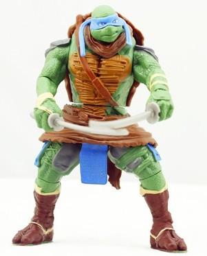 teenage mutant ninja turtles-movie figures 4