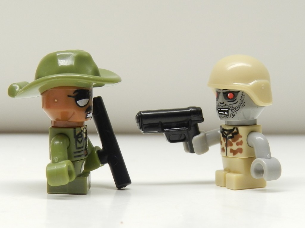 Kreo Sgt. Drill and Zombie