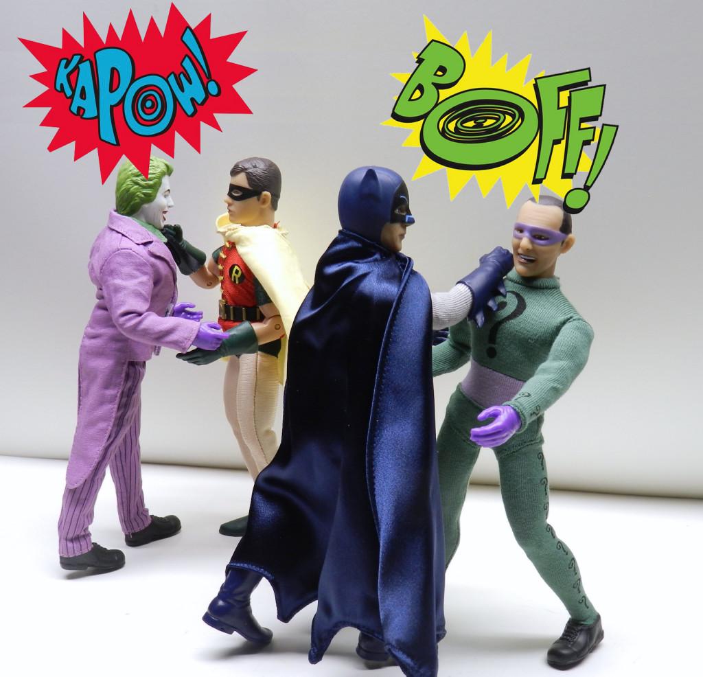 Retro Batman Figures Review