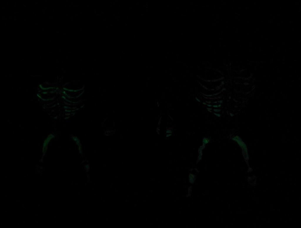 Some figures glow!