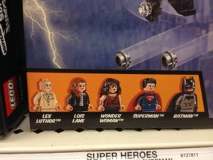 Lego Dawn of Justice Mini Figs